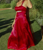 Designer Red Ball Dress