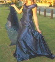 Midnight blue Ball dress