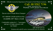 Airport Transfers in Perth WA