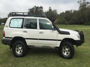 toyota land cruiser 2001 Toyota Landcruiser RV Manual 4x4