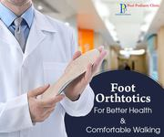 Get Feet Problems Diagnosed With Orthotics Service