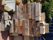 Garden pavers,  limestone blocks,  edging