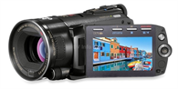 Brand New  Canon VIXIA HFS11 AVCHD Dual Flash Memory Camcorder HF-S11